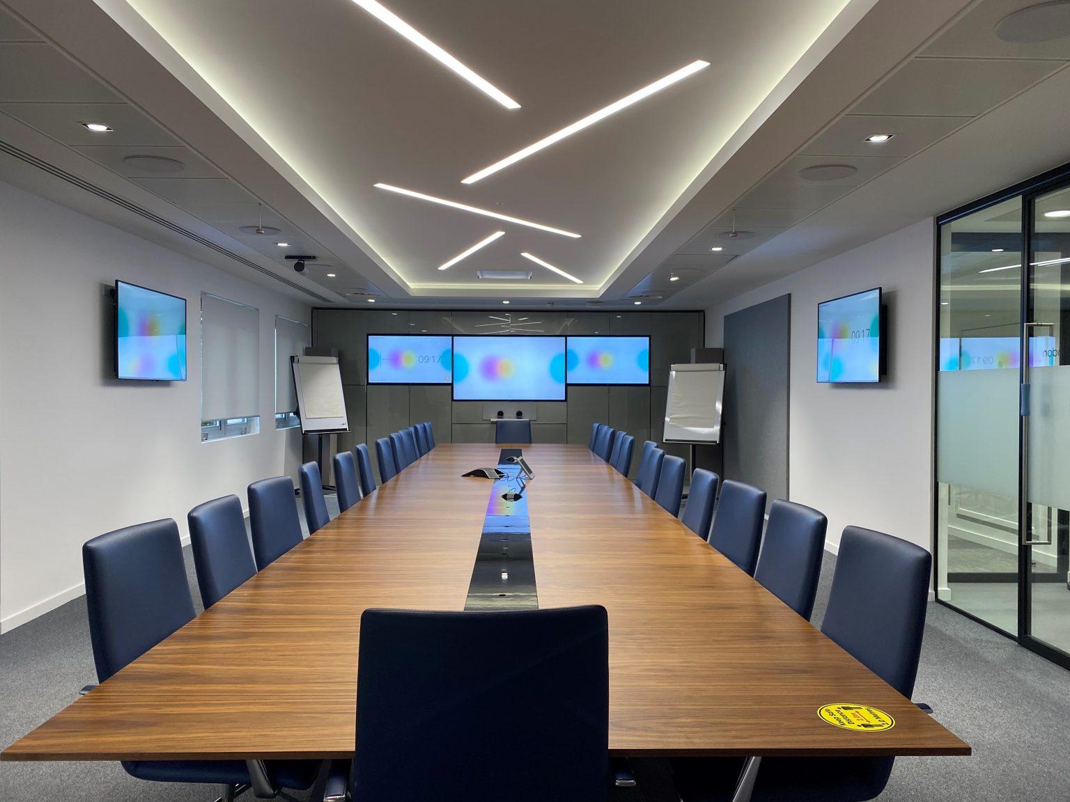 Board room AV Technology Solution from AV Connections